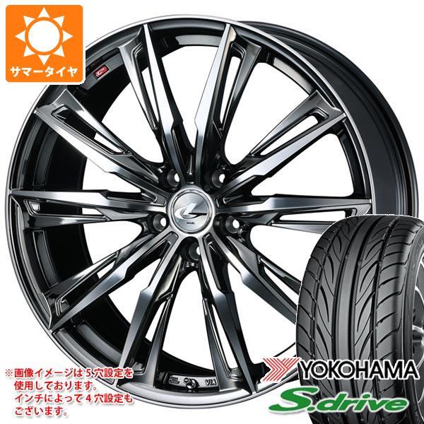 サマータイヤ 165/40R16 70V REINF ヨコハマ DNA S.ドライブ ES03 ES03N レオニス GX BMCミラーカット 5.0-16 タイヤホイール4本セット
