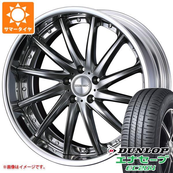 サマータイヤ 215/45R18 93W XL ダンロップ エナセーブ EC204 マーベリック 1212F 7.5-18 タイヤホイール4本セット