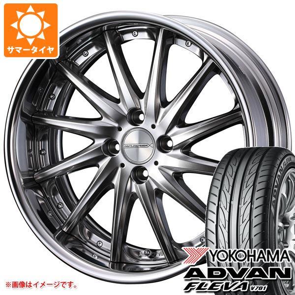サマータイヤ 195/40R17 81W XL ヨコハマ アドバン フレバ V701 マーベリック 1212F 軽・コンパクトカー用 6.5-17 タイヤホイール4本セット