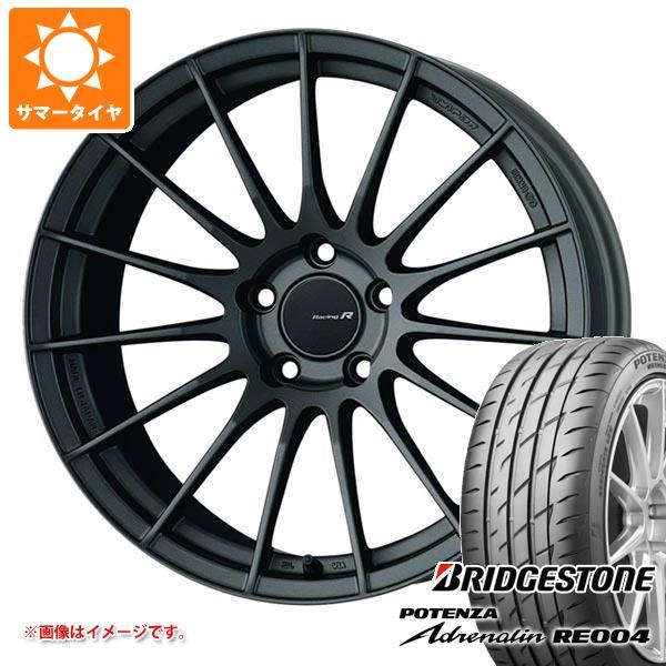 サマータイヤ 245/40R18 97W XL ブリヂストン ポテンザ アドレナリン RE004 ENKEI エンケイ レーシング レボリューション RS05RR 9.0-18 タイヤホイール4本セット