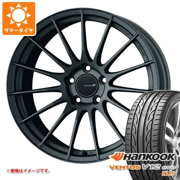 サマータイヤ 245/40R18 97Y XL ハンコック ベンタス V12evo2 K120 ENKEI エンケイ レーシング レボリューション RS05RR 9.0-18 タイヤホイール4本セット