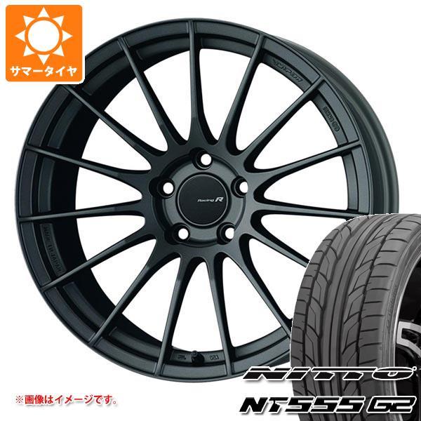 サマータイヤ 265/35R18 97Y XL ニットー NT555 G2 ENKEI エンケイ レーシング レボリューション RS05RR 9.5-18 タイヤホイール4本セット