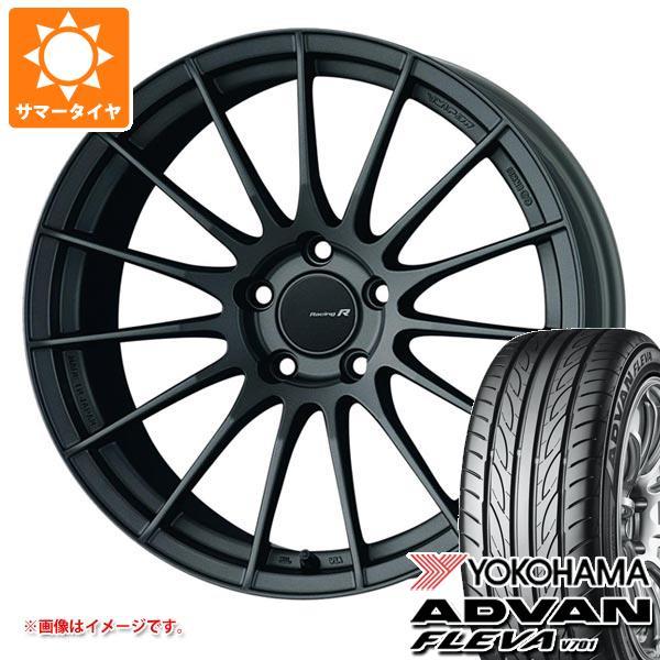サマータイヤ 265/35R18 97W XL ヨコハマ アドバン フレバ V701 ENKEI エンケイ レーシング レボリューション RS05RR 9.5-18 タイヤホイール4本セット