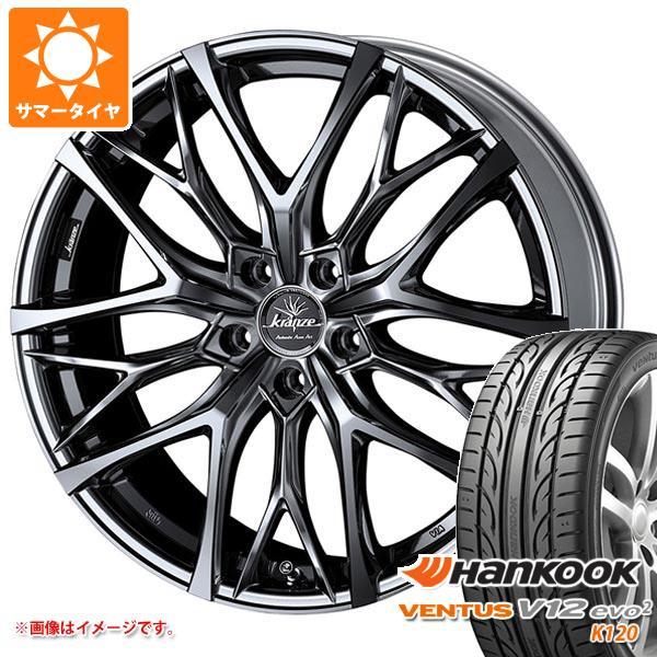 2020年製 サマータイヤ 235/50R18 101Y XL ハンコック ベンタス V12evo2 K120 クレンツェ ウィーバル 100エボ 7.5-18 タイヤホイール4本セット