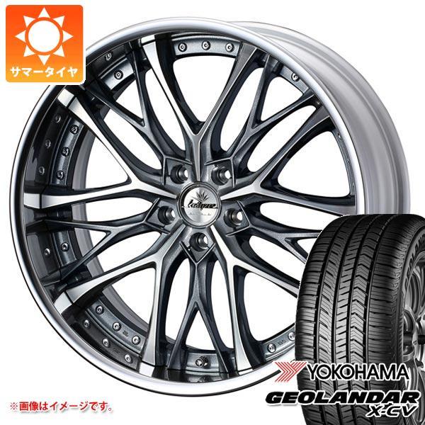 サマータイヤ 235/55R19 105W XL ヨコハマ ジオランダー X-CV G057 クレンツェ ウィーバル 8.0-19 タイヤホイール4本セット
