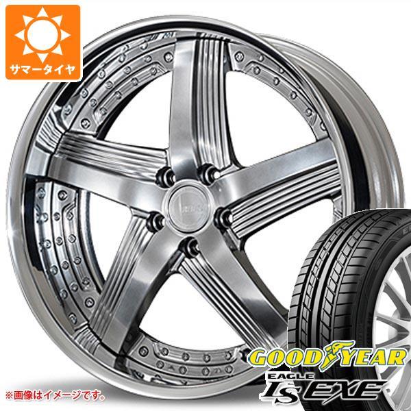 サマータイヤ 245/35R20 95W XL グッドイヤー イーグル LSエグゼ アミスタット ライエン C010 8.5-20 タイヤホイール4本セット