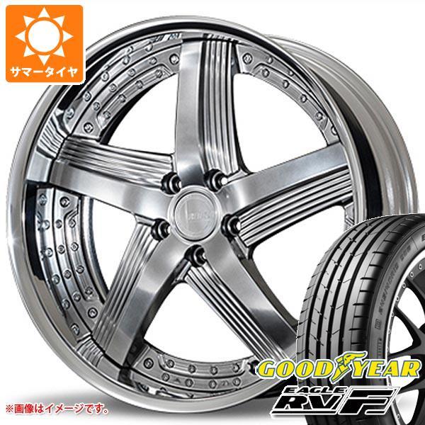 サマータイヤ 245/35R20 95W XL グッドイヤー イーグル RV-F アミスタット ライエン C010 8.5-20 タイヤホイール4本セット