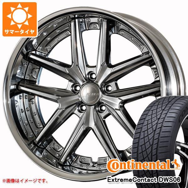 サマータイヤ 245/40R20 99Y XL コンチネンタル エクストリームコンタクト DWS06 アミスタット ライエン T025 8.5-20 タイヤホイール4本セット