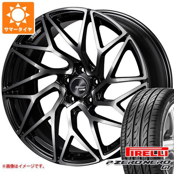 サマータイヤ 245/30R20 (90Y) XL ピレリ P ゼロ ネロ GT SSR ブリッカー 01T 8.5-20 タイヤホイール4本セット