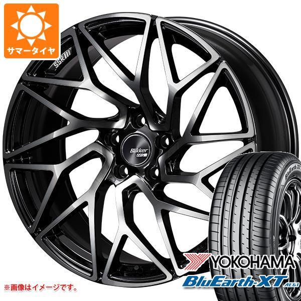 サマータイヤ 235/55R19 101V ヨコハマ ブルーアースXT AE61 SSR ブリッカー 01T 8.5-19 タイヤホイール4本セット