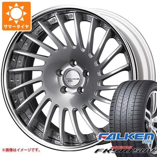 サマータイヤ 235/50R19 103W XL ファルケン アゼニス FK510 SUV SSR エグゼキューター CV05 8.0-19 タイヤホイール4本セット