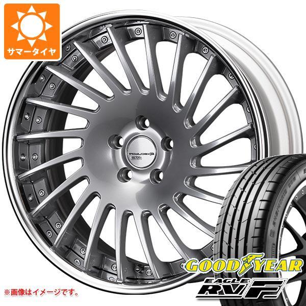 サマータイヤ 245/40R19 98W XL グッドイヤー イーグル RV-F SSR エグゼキューター CV05 8.5-19 タイヤホイール4本セット