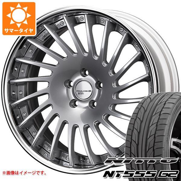 サマータイヤ 245/45R19 102Y XL ニットー NT555 G2 SSR エグゼキューター CV05 8.5-19 タイヤホイール4本セット