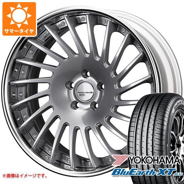 サマータイヤ 225/55R19 99V ヨコハマ ブルーアースXT AE61 2020年4月発売サイズ SSR エグゼキューター CV05 8.0-19 タイヤホイール4本セット