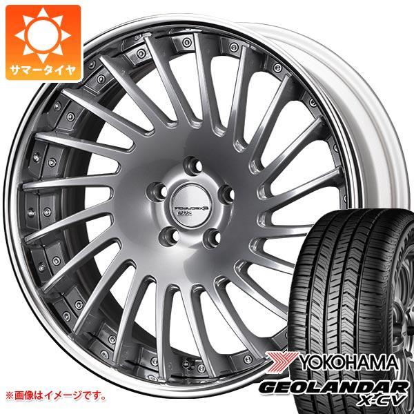 サマータイヤ 235/55R19 105W XL ヨコハマ ジオランダー X-CV G057 SSR エグゼキューター CV05 8.0-19 タイヤホイール4本セット