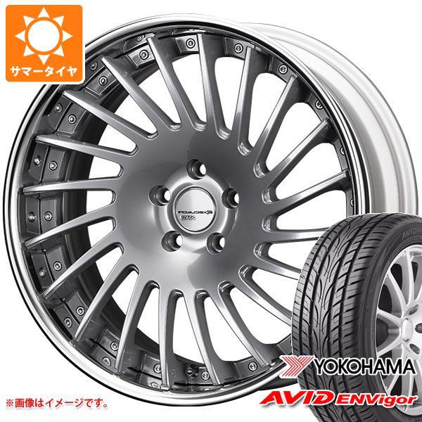 サマータイヤ 245/40R20 99W ヨコハマ エービッド エンビガー S321 SSR エグゼキューター CV05 8.5-20 タイヤホイール4本セット