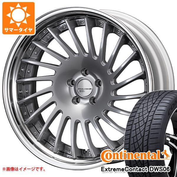 サマータイヤ 245/45R20 103Y XL コンチネンタル エクストリームコンタクト DWS06 SSR エグゼキューター CV05S 8.5-20 タイヤホイール4本セット