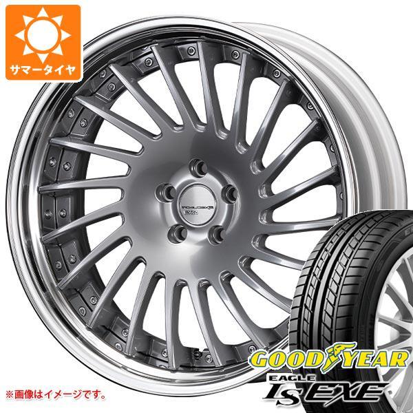 サマータイヤ 225/35R20 90W XL グッドイヤー イーグル LSエグゼ SSR エグゼキューター CV05S 8.0-20 タイヤホイール4本セット