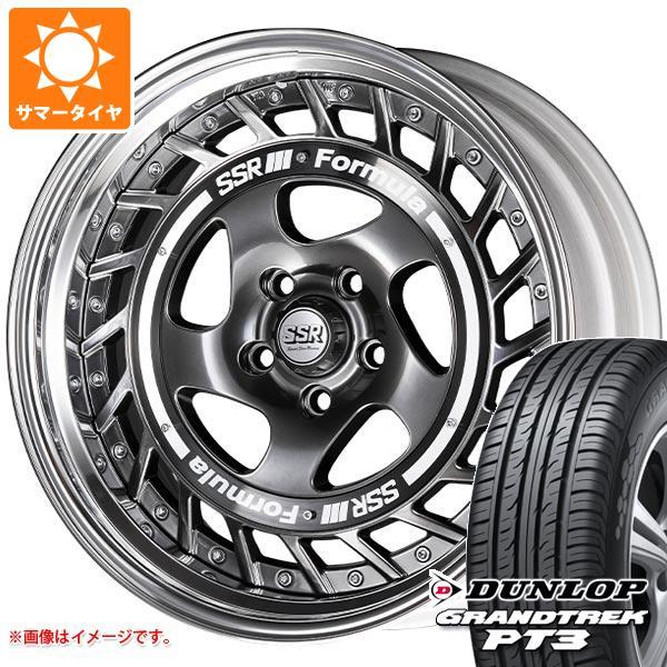 サマータイヤ 235/60R18 107V XL ダンロップ グラントレック PT3 SSR フォーミュラ エアロスポーク 8.0-18 タイヤホイール4本セット