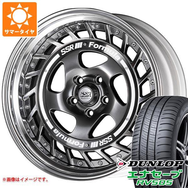 サマータイヤ 235/50R18 97W ダンロップ エナセーブ RV505 SSR フォーミュラ エアロスポーク 8.0-18 タイヤホイール4本セット