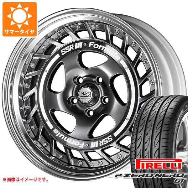正規品 サマータイヤ 195/45R16 84V XL ピレリ P ゼロ ネロ GT SSR フォーミュラ エアロスポーク 6.5-16 タイヤホイール4本セット