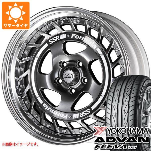 サマータイヤ 195/50R16 84V ヨコハマ アドバン フレバ V701 SSR フォーミュラ エアロスポーク 6.5-16 タイヤホイール4本セット