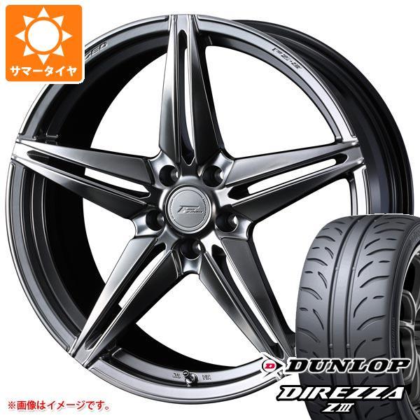 サマータイヤ 225/40R18 88W ダンロップ ディレッツァ Z3 F ゼロ FZ-3 7.5-18 タイヤホイール4本セット