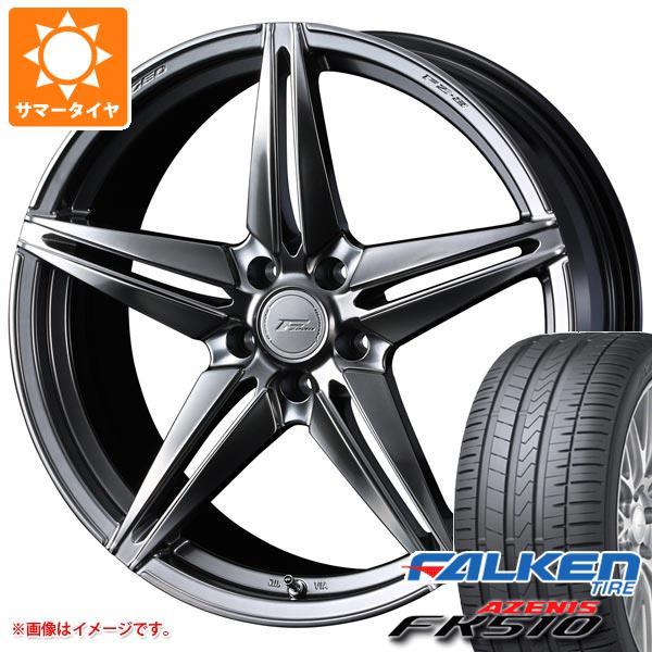 サマータイヤ 225/35R19 (88Y) XL ファルケン アゼニス FK510 F ゼロ FZ-3 8.0-19 タイヤホイール4本セット