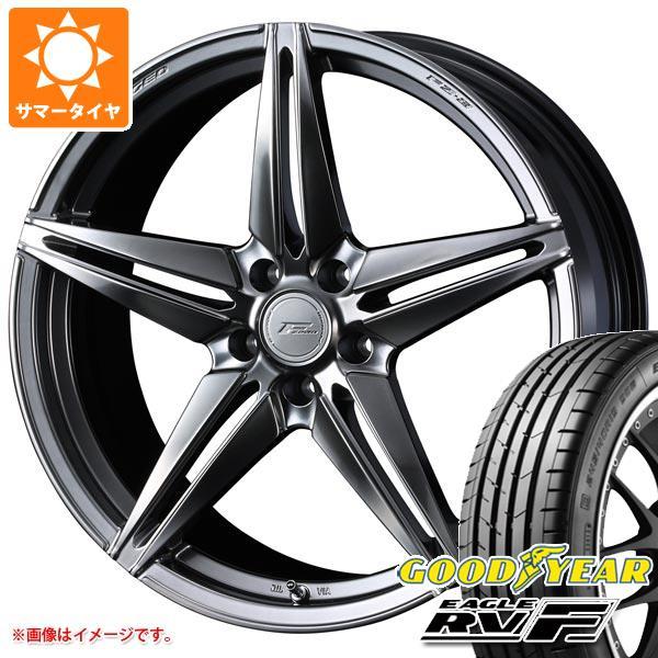 サマータイヤ 225/40R18 92W XL グッドイヤー イーグル RV-F F ゼロ FZ-3 7.5-18 タイヤホイール4本セット