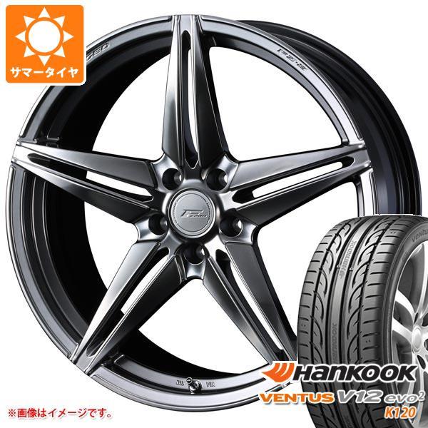 2020年製 サマータイヤ 225/50R18 99Y XL ハンコック ベンタス V12evo2 K120 F ゼロ FZ-3 7.5-18 タイヤホイール4本セット