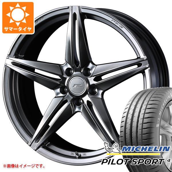正規品 サマータイヤ 225/40R19 (93Y) XL ミシュラン パイロットスポーツ4 F ゼロ FZ-3 8.0-19 タイヤホイール4本セット