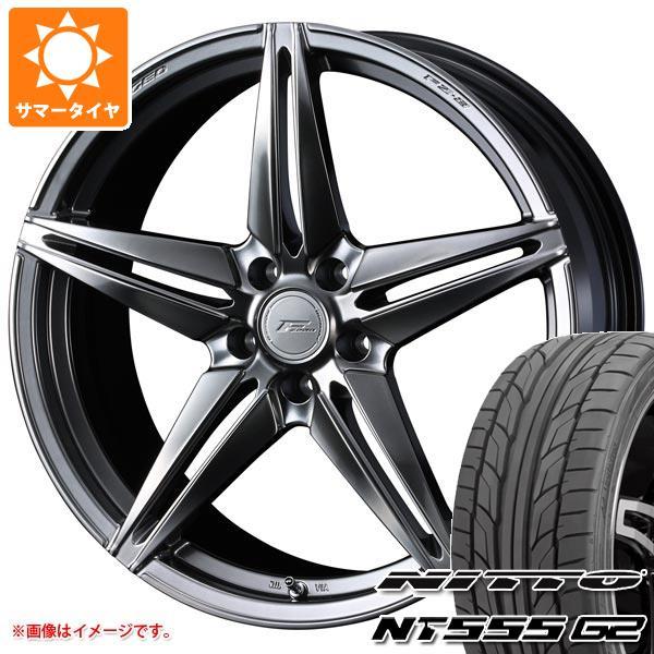 サマータイヤ 235/40R18 95Y XL ニットー NT555 G2 F ゼロ FZ-3 8.0-18 タイヤホイール4本セット