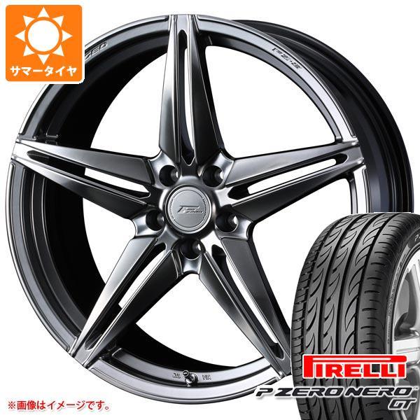 正規品 サマータイヤ 225/40R18 (92Y) XL ピレリ P ゼロ ネロ GT F ゼロ FZ-3 7.5-18 タイヤホイール4本セット