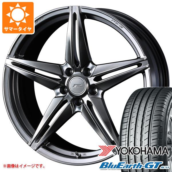 サマータイヤ 215/40R18 89W XL ヨコハマ ブルーアースGT AE51 F ゼロ FZ-3 7.5-18 タイヤホイール4本セット