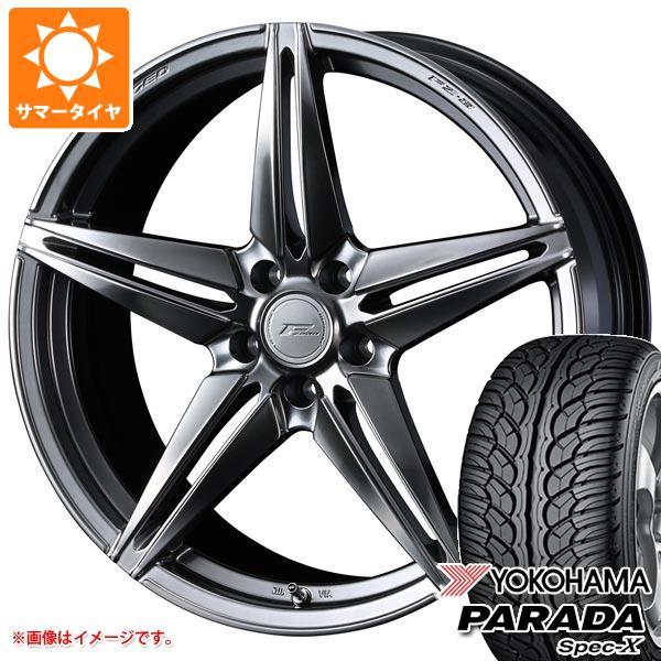 サマータイヤ 235/55R20 102V ヨコハマ パラダ スペック-X PA02 F ゼロ FZ-3 8.5-20 タイヤホイール4本セット