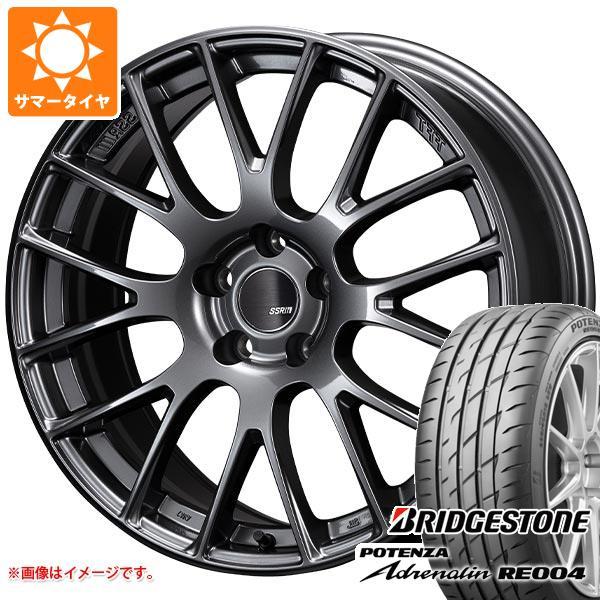 サマータイヤ 245/45R18 100W XL ブリヂストン ポテンザ アドレナリン RE004 SSR GTV04 8.5-18 タイヤホイール4本セット