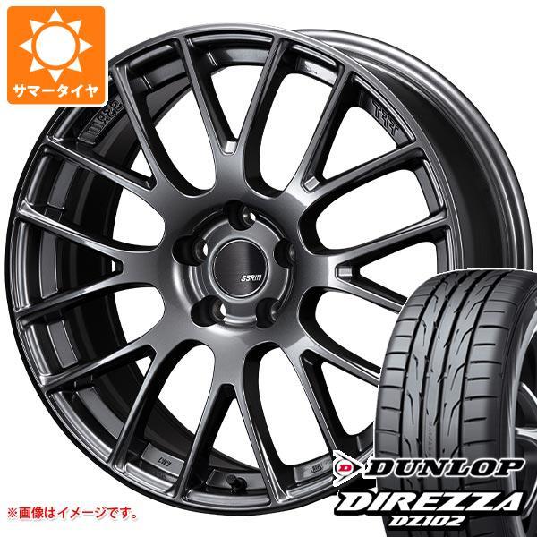 サマータイヤ 265/35R18 97W XL ダンロップ ディレッツァ DZ102 SSR GTV04 8.5-18 タイヤホイール4本セット