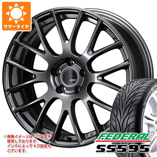 サマータイヤ 195/45R16 84V XL フェデラル SS595 SSR GTV04 6.0-16 タイヤホイール4本セット