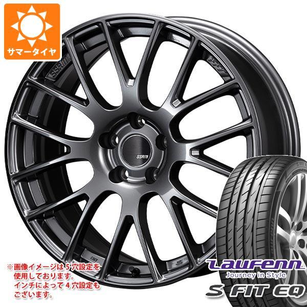 サマータイヤ 185/55R16 83V ラウフェン Sフィット EQ LK01 SSR GTV04 6.0-16 タイヤホイール4本セット