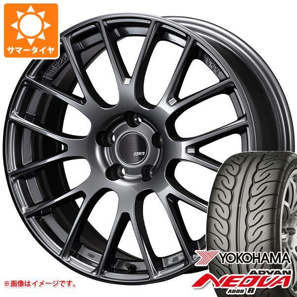 サマータイヤ 165/55R15 75V ヨコハマ アドバン ネオバ AD08 R SSR GTV04 5.0-15 タイヤホイール4本セット