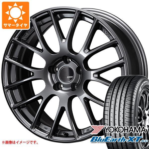 サマータイヤ 235/55R19 101V ヨコハマ ブルーアースXT AE61 SSR GTV04 8.5-19 タイヤホイール4本セット