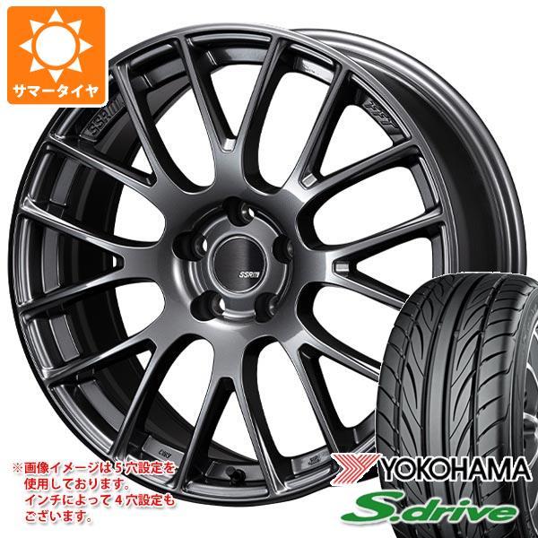 サマータイヤ 165/45R16 74V REINF ヨコハマ DNA S.ドライブ ES03 ES03N SSR GTV04 5.0-16 タイヤホイール4本セット