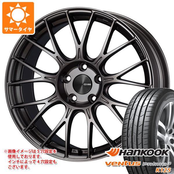 サマータイヤ 165/40R16 70V XL ハンコック ベンタス プライム3 K125 ENKEI エンケイ パフォーマンスライン PFM1 5.5-16 タイヤホイール4本セット