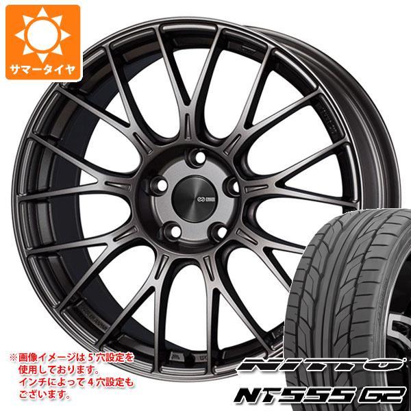 サマータイヤ 245/35R19 93Y XL ニットー NT555 G2 ENKEI エンケイ パフォーマンスライン PFM1 8.5-19 タイヤホイール4本セット