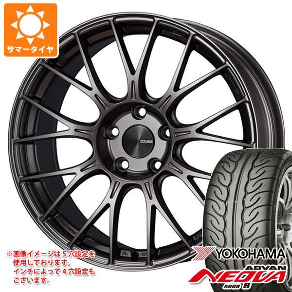 サマータイヤ 215/40R18 89W XL ヨコハマ アドバン ネオバ AD08 R ENKEI エンケイ パフォーマンスライン PFM1 7.5-18 タイヤホイール4本セット