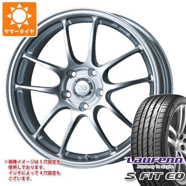 サマータイヤ 205/40R17 84W XL ラウフェン Sフィット EQ LK01 ENKEI エンケイ パフォーマンスライン PF01 6.5-17 タイヤホイール4本セット