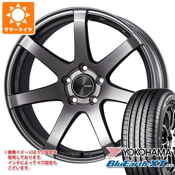 サマータイヤ 225/55R19 99V ヨコハマ ブルーアースXT AE61 2020年4月発売サイズ ENKEI エンケイ パフォーマンスライン PF07 8.0-19 タイヤホイール4本セット