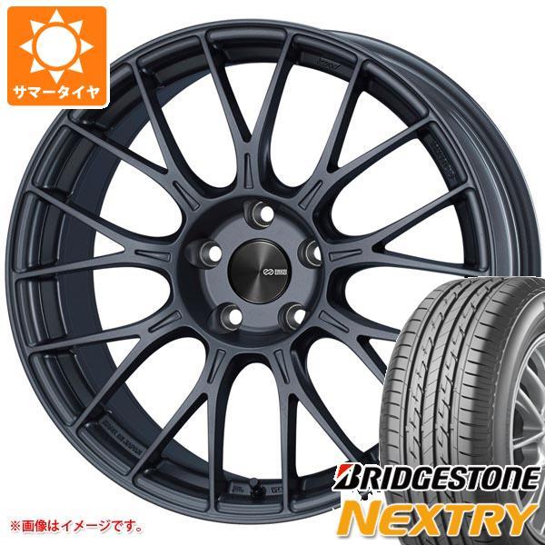 サマータイヤ 165/55R15 75V ブリヂストン ネクストリー ENKEI エンケイ パフォーマンスライン PFM1 5.0-15 タイヤホイール4本セット
