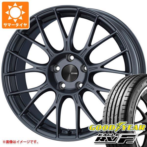 サマータイヤ 205/55R16 94V XL グッドイヤー イーグル RV-F ENKEI エンケイ パフォーマンスライン PFM1 6.5-16 タイヤホイール4本セット