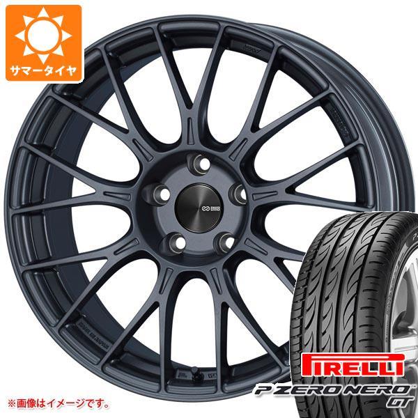 正規品 サマータイヤ 245/40R19 (98Y) XL ピレリ P ゼロ ネロ GT ENKEI エンケイ パフォーマンスライン PFM1 8.5-19 タイヤホイール4本セット